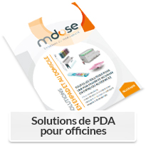 Brochure Mdose - Solutions de PDA pour les officines